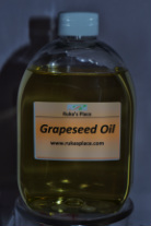 A picture of Ruka's Place Bottle of Grapeseed Oil