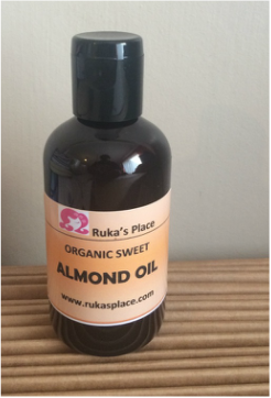 A Picture of Organic Sweet Almond Oil