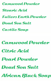 Ruka's Place Powders and salts