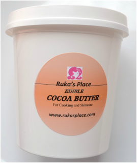 Ruka's Place Food Grade Cocoa Butter
