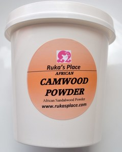 A picture of Ruka's Place Jar of Camwood Powder
